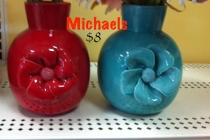 Michaels 3d flower vase
