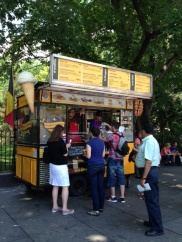 Waffles & Dinges at Central Park