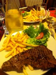 Dinner in St. Malo