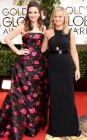 "Amy Poehler (5'1"") in Stella McCartney"