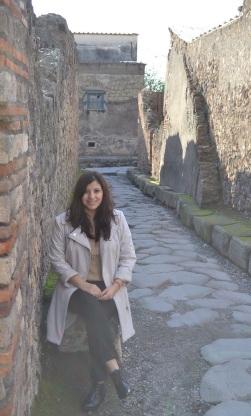 Andrea in Pompeii