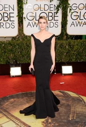 "Emma Roberts (5'2"") in Lanvin"
