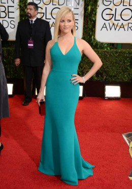 """Reese Witherspoon (5'1"""") in Calvin Klein"""