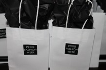 Petite Fashion Week goody bags