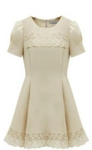 Pretty A-line Vintage Dress