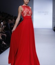 Gorgeous dress from David Salomo runway show Mèxico