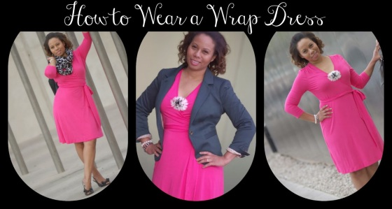 wrap dress Collage